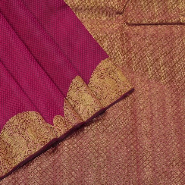 Turning Border Silk Saree
